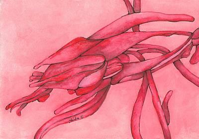 Painting - Red Lust by Versel Reid