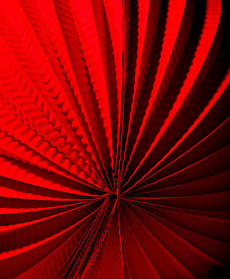 Origami Photograph - Red by Maggie Terlecki