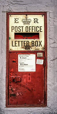 Postoffices Photograph - Red Mailbox by Georgia Fowler
