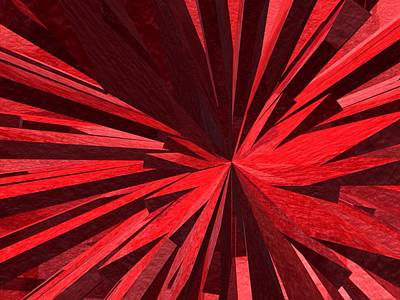 Painting - Red by Mark Taylor