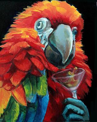 Red Martini Original by Vanessa Bates