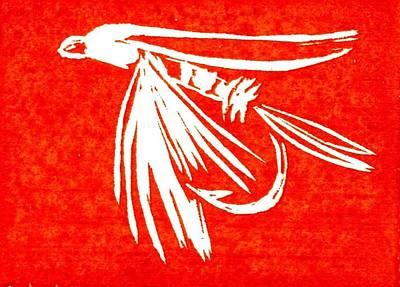 Red Midge Art Print