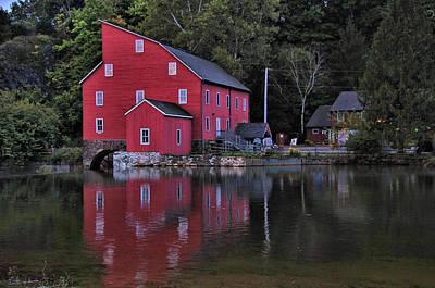 Red Mill Art Print
