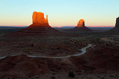 Photograph - Red Mittens In Monument Valley by Pierre Leclerc Photography