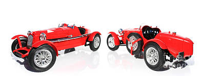 Pole Position Photograph - Red Model Car by Jorgo Photography - Wall Art Gallery