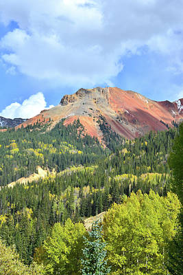 Photograph - Red Mountain Colors by Ray Mathis