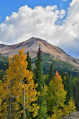 Photograph - Red Mountain Fall by Ray Mathis