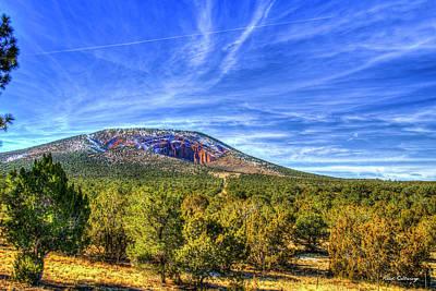 Photograph - Red Mountain Flagstaff Arizona Art by Reid Callaway