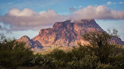 Photograph - Red Mountain Hide And Seek  by Saija Lehtonen