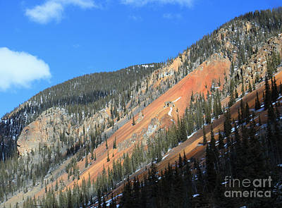 Photograph - Red Mountain by Mary Haber