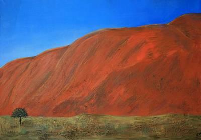 Red Mountain Original by Olga Chuvatova