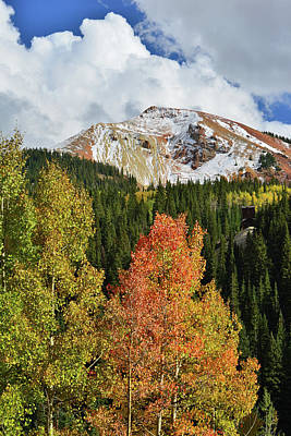 Photograph - Red Mountain Pass In Fall by Ray Mathis
