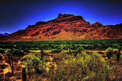 Photograph - Red Mountain by Roger Passman