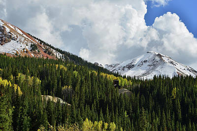 Photograph - Red Mountain Thunderheads by Ray Mathis