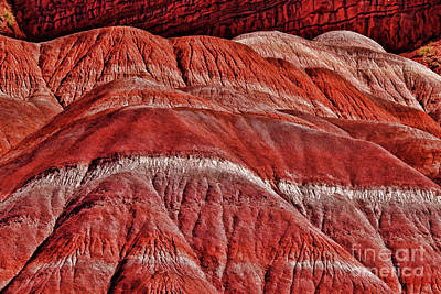 Photograph - Red Mountians In Pahreah Ghost Town by Blake Richards