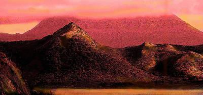 Music Figurative Potraits - Red Nevis by Ian  MacDonald