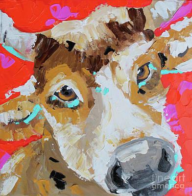 Painting - Red by Nicole Gaitan