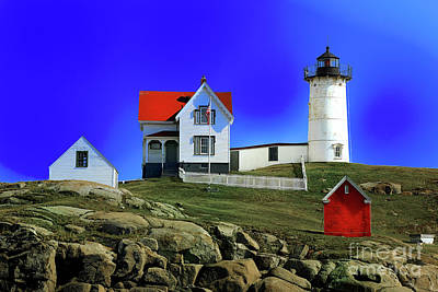 Photograph - Red Nubble by Rick Bragan