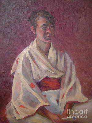 Painting - Red Obi by Lilibeth Andre