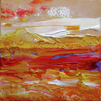 Painting - Red Ochre By V.kelly by Valerie Anne Kelly