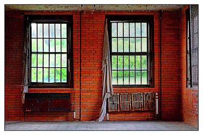 Photograph - Red, Orange, Brown Brick Room by Constance Lowery
