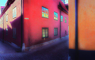 Photograph - Red-orange by Jan W Faul