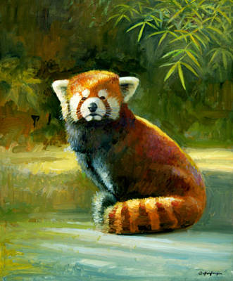 Painting - Red Panda by Mel Greifinger