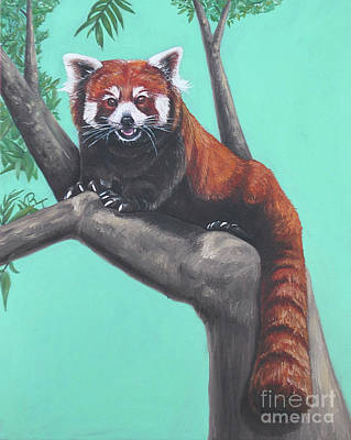 Painting - Red Panda by Rebecca Tiano