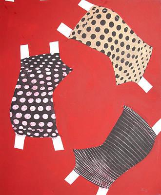 Atkinsky Painting - Red Patch by Judith Sturm