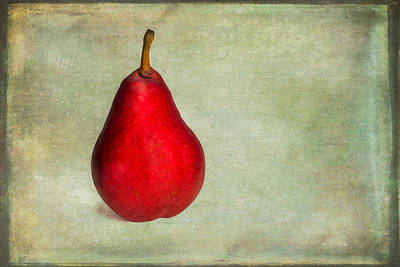 Photograph - Red Pear by Joye Ardyn Durham