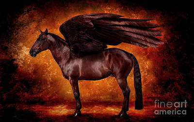 Wall Art - Photograph - Red Pegasus by Kent Miklenda