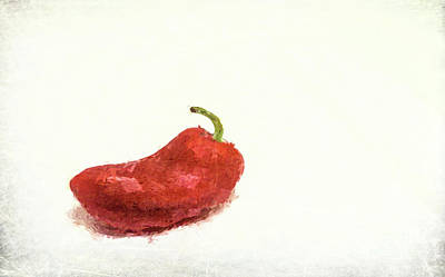 Photograph - Red Pepper by Andrea Anderegg