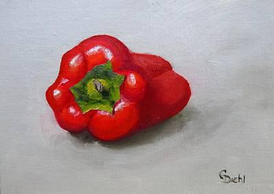 Painting - Red Pepper by Grace Diehl