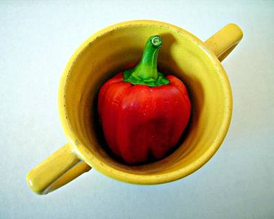Photograph - Red Pepper by Patricia Strand
