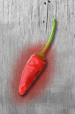 Photograph - Red Pepper by Paulo Goncalves