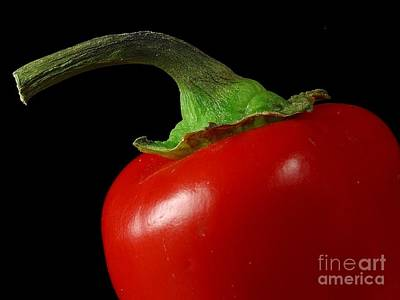 Photograph - Red Pepper by R Muirhead Art