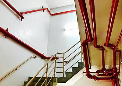 Photograph - Red Pipes by Brian Sereda