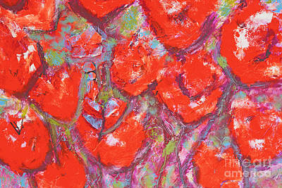 Painting - Red Poppies by Gallery Messina