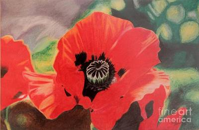 Painting - Red Poppies by Terri Thompson