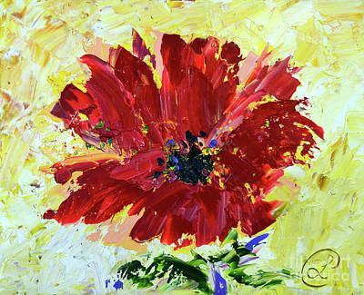 Painting - Red Poppy by Lynda Cookson