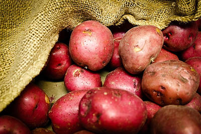 Photograph - Red Potatoes by Colleen Kammerer