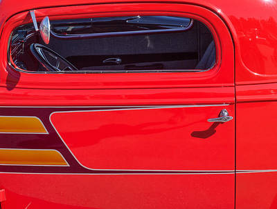 Photograph - Red Racer by Gary Karlsen
