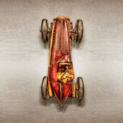 Red Racer Top Art Print by YoPedro