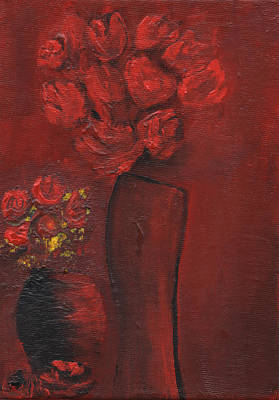 Painting - Red by Rae Ann  M Garrett