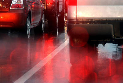 Photograph - Red Rain by Barbara  White