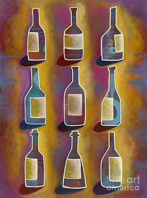 Red Red Wine Art Print by Carla Bank