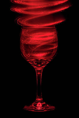 Wine Art Paining Photograph - Red Red Wine by Marnie Patchett