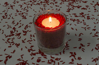 Red Rice Candle Original by Mohammed Mostafa
