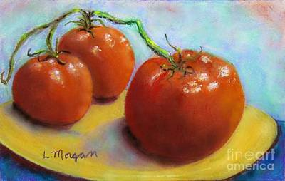 Painting - Red Ripe And Ready by Laurie Morgan