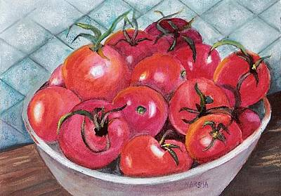 Painting - Red Ripe And Ready by Marsha Woods